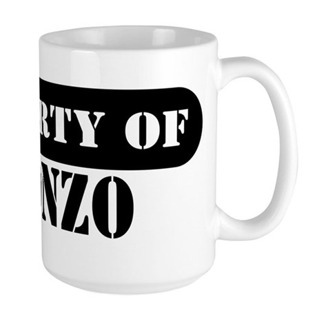 Property of Alonzo Large Mug