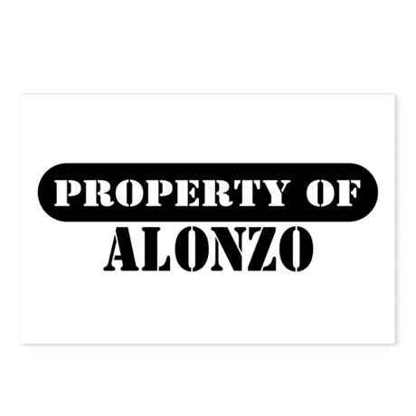 Property of Alonzo Postcards (Package of 8)