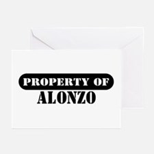 Property of Alonzo Greeting Cards (Pk of 10)