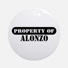 Property of Alonzo Ornament (Round)