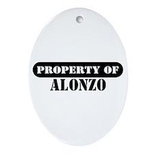 Property of Alonzo Oval Ornament