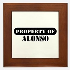 Property of Alonso Framed Tile