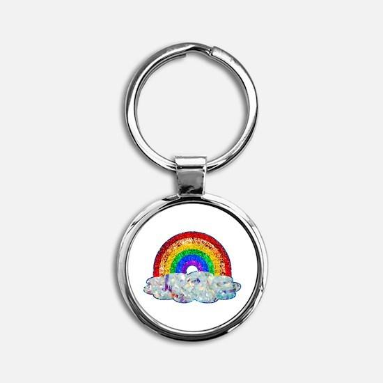 Glitter & Be Gay Keychains