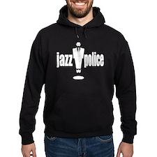 jazzpolicebwflat.psd Hoodie