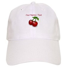 Custom Red Cherries Baseball Cap