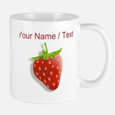 Custom Red Strawberry Mugs