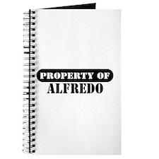 Property of Alfredo Journal
