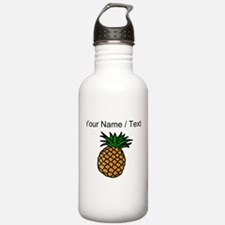 Custom Pineapple Sports Water Bottle