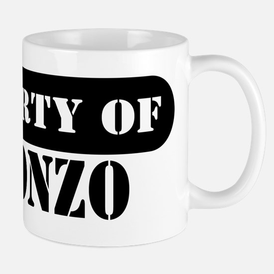 Property of Alfonzo Mug