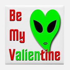 Be My Valientine V1 Tile Coaster