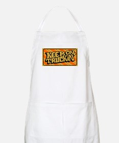 Keep on Truckin' retro design Apron