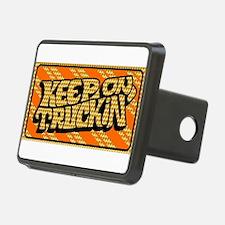 Keep on Truckin' retro design Hitch Cover