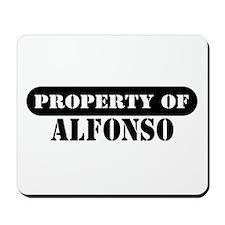 Property of Alfonso Mousepad