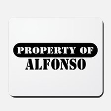 Property of Alfonso Mousepad