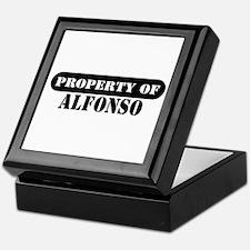 Property of Alfonso Keepsake Box