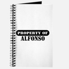 Property of Alfonso Journal