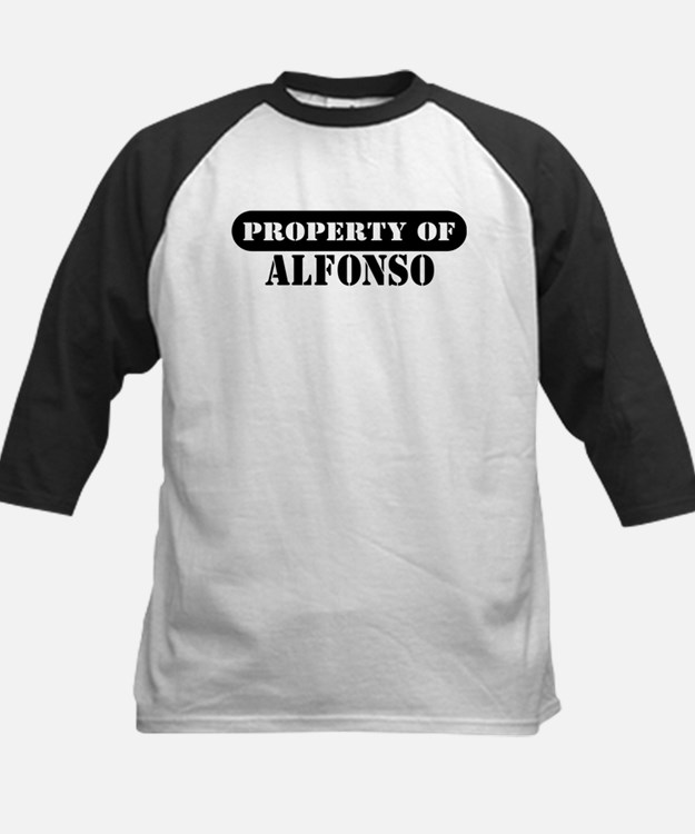 Property of Alfonso Tee