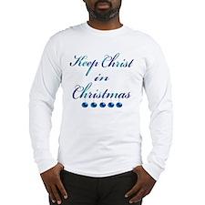 Keep Christ in Christmas Long Sleeve T-Shirt