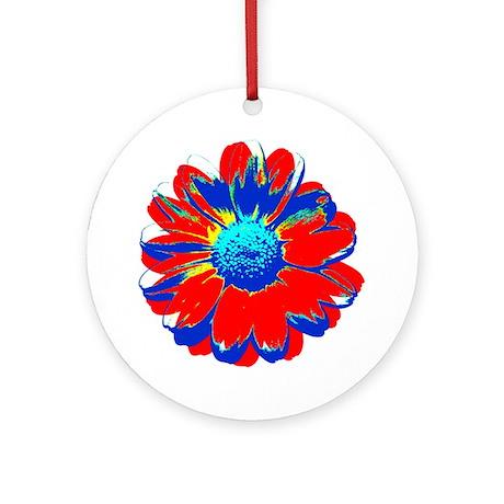 Marguerite Warhol style Ornament (Round)