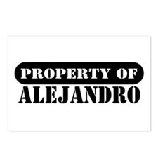 Property of Alejandro Postcards (Package of 8)