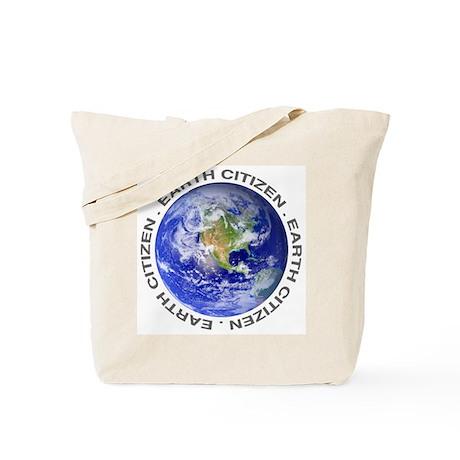 Earth Citizen Tote Bag