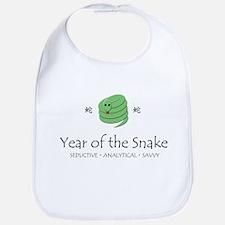 """Year of the Snake"" Bib"