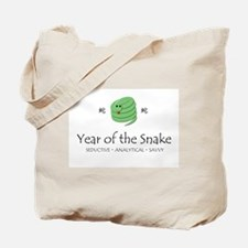 """""""Year of the Snake"""" Tote Bag"""
