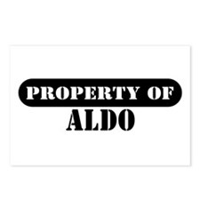 Property of Aldo Postcards (Package of 8)