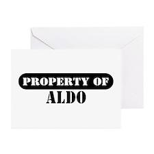Property of Aldo Greeting Cards (Pk of 10)