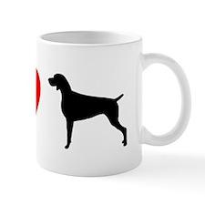 I Heart Weimaraner Mug