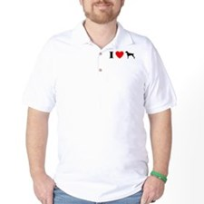 I Heart Weimaraner T-Shirt