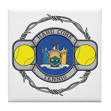 New York Tennis Tile Coaster