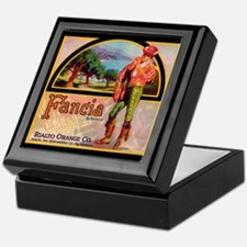 FANCIA vintage label Condom Box