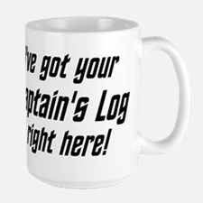 Ive got your Captains Log right here! Mugs