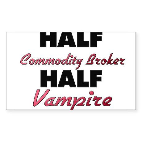 Half Commodity Broker Half Vampire Sticker