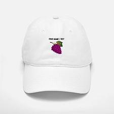 Custom Purple Grapes Baseball Baseball Cap