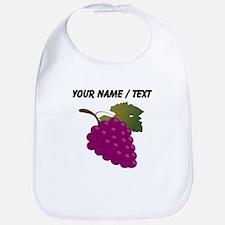 Custom Purple Grapes Bib