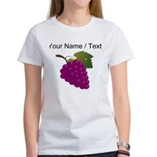 Custom Purple Grapes T-Shirt