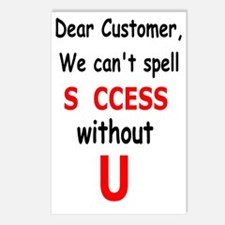 Customer Postcards (Package of 8)