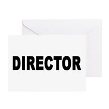DIRECTOR Greeting Cards (Pk of 10)