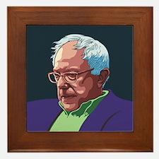 Bernie Sanders -col Framed Tile