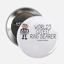 World's Cutest Ringbearer Button