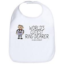 World's Cutest Ringbearer Bib