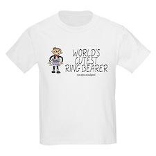 World's Cutest Ringbearer Kids T-Shirt