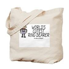 World's Cutest Ringbearer Tote Bag