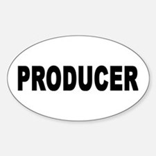 PRODUCER Oval Decal
