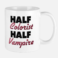 Half Colorist Half Vampire Mugs