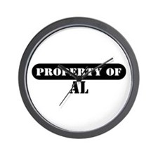 Property of Al Wall Clock