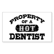 Property of a Hot Dentist Decal