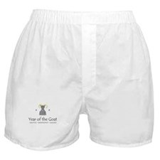 """Year of the Goat"" Boxer Shorts"